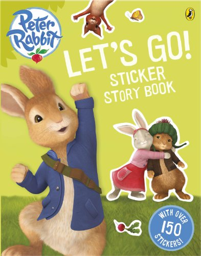 Let's go! : sticker story book.