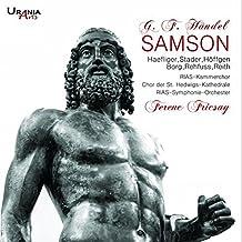 Haendel : Samson, oratorio. Haefliger, Stader, Höffgen, Borg, Rehfuss, Reith, Fricsay.