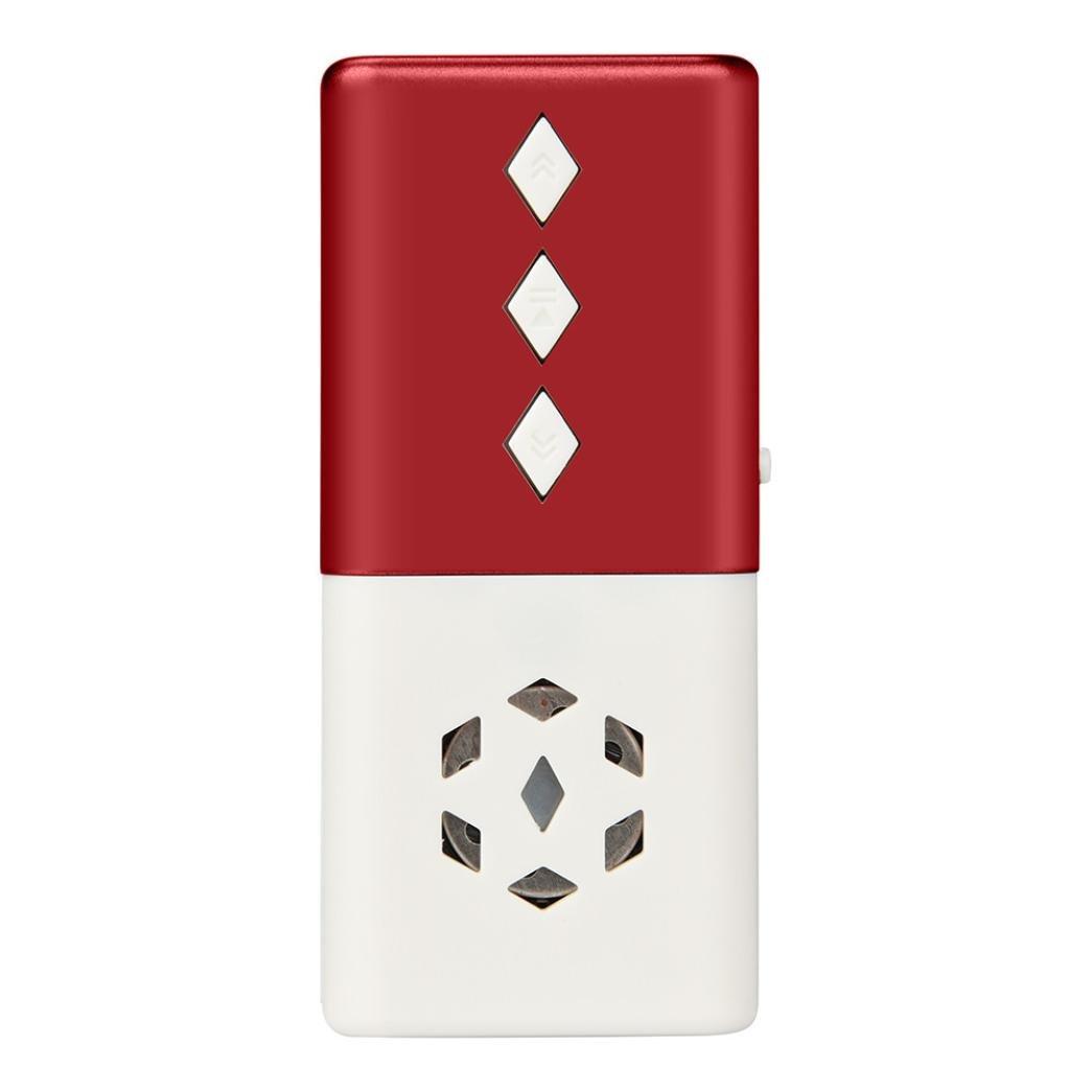 Taottao mini USB MP3Music media player Light Support 16GB Micro SD TF Card speaker, red