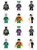 Cakeshop 12 x VORGESCHNITTENE UND ESSBARE aufstehen Lego Batman Kuchen topper (Tortenaufleger)