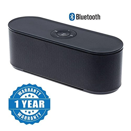 Captcha S207 Portable Mega Bass Bluetooth Home Speaker Compatible With All Smartphones