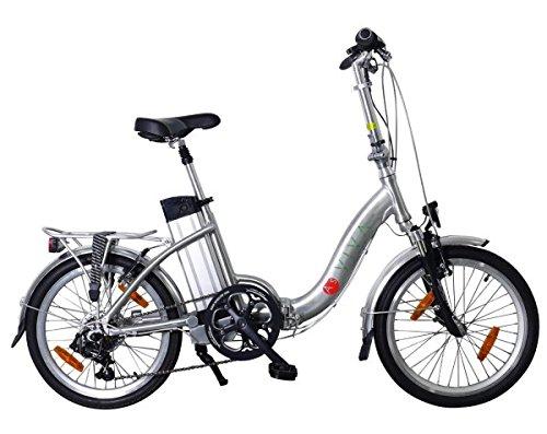 AsVIVA B7 Elektrofahrrad/Faltrad 20 Zoll - E-Bike mit 36V...