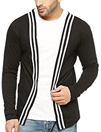 GRITSTONES Men's Cotton Round Neck Full Sleeve Shrug