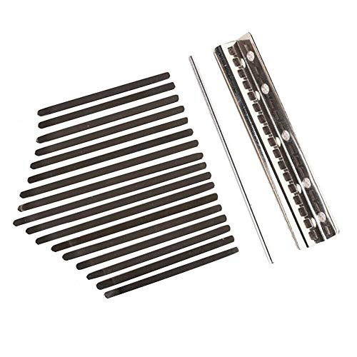 17 Tasten Thumb Piano Solid Mahagoni Finger Instrumente