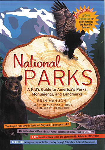 National Parks: A Kid's Guide to America's Parks, Monuments, and Landmarks, Revised and Updated (English Edition)