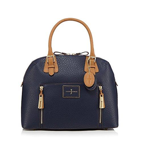 j-by-jasper-conran-womens-navy-colour-block-grab-bag