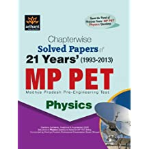 Chapterwise 21 Years' Solved Papers MP PET PHYSICS
