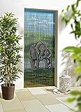 ABC Home Living Raumteiler Vorhang, Bambus, Mehrfarbig, 2.2 x 90 x 200 cm