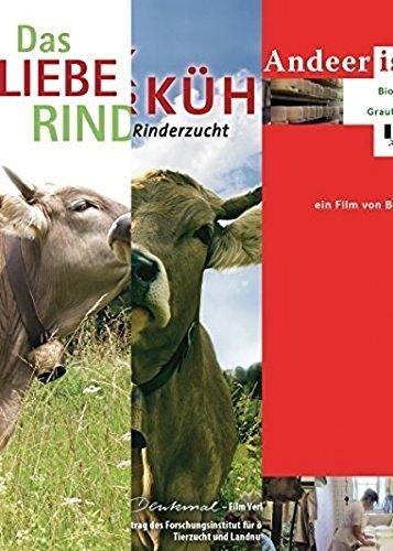 Rinder-Trilogie: 3 Dokumentarfilme: Das liebe Rindvieh, Vom Glück der Kühe, Andeer ist anders