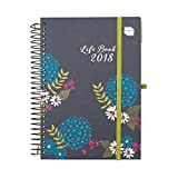 2018 Life Book Diary. Boxclever Press. Week to View A5 Organiser. With large spaces for each day, designed to manage busy lives and families. Starts straight away until December '18.