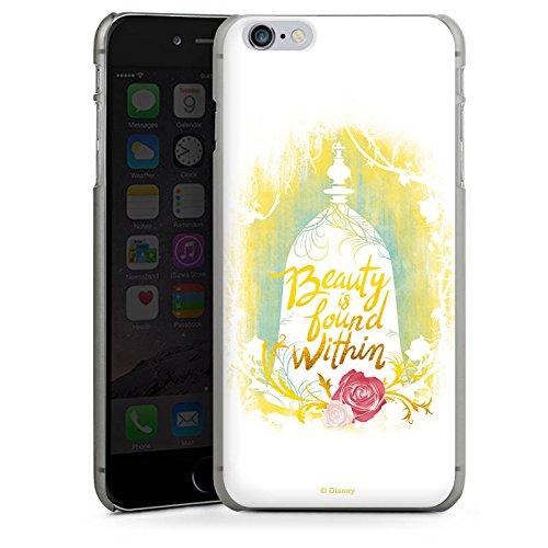 Apple iPhone X Silikon Hülle Case Schutzhülle Die Schöne und das Biest Disney Rose Hard Case anthrazit-klar