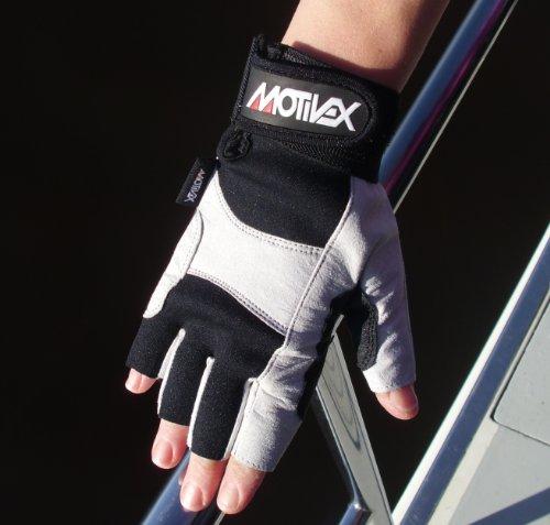 MOTIVEX Segelhandschuhe Rückseite Neoprene besonders griffig Größe:XL -