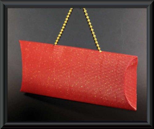 Tragefixbox regali rosso regalo x presenta i gioielli - per imballaggi cassa di imballaggio da scatola box 12 materiale confezione monili dei Fixbox trasporto portagioie sacchetto della