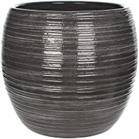 Mica Decorations vaso 140399 Loomy, Grigio