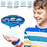 GEYUEYA Home Mini Drône UFO Drône, Mini Jouet Volant UFO Drone USB rechargebale Interactive Infrarouge Induction Hélicoptère...