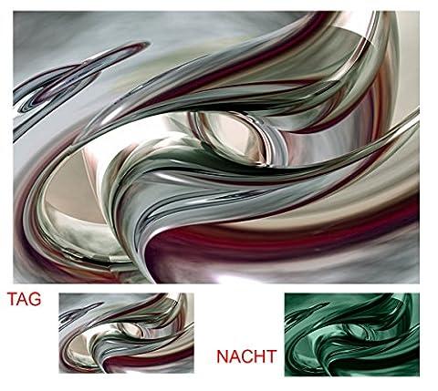 Startonight Impression Sur Toile Destin Inattendu Abstrait, Art Encadré Imprimée Tableau Motif Moderne DécorationTendu Sur Chassis Prêt à Accrocher 80 x 120 cm