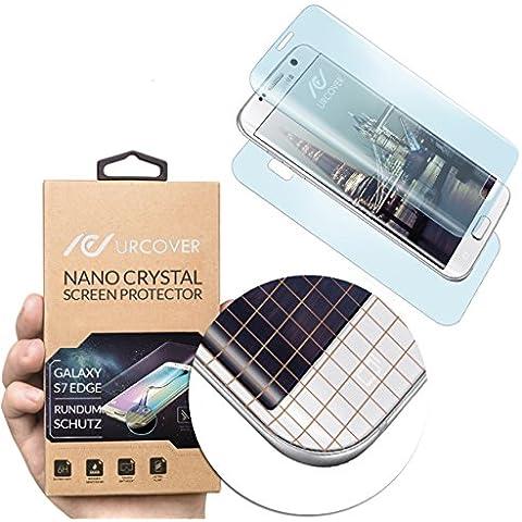 URCOVER® Nano Crystal 6H | Pellicola Protettiva Samsung Galaxy S7 Edge | Poliuretano Termostatico | Screen Anti Shock Absorber Protector Smartphone Protezione Schermo Display Ultra-Sottile