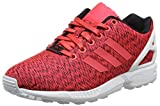 adidas Herren Zx Flux Sneakers, Rot (Core Black/Shock Red S16/Ftwr White), 38 2/3 EU