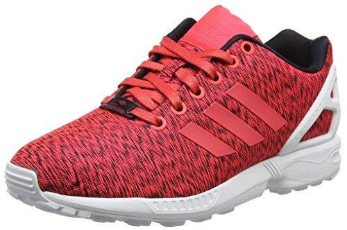 adidas Zx Flux, Baskets Basses Mixte Adulte, Rouge (Core Black/Shock Red S16/Ftwr White), 36 2/3 EU