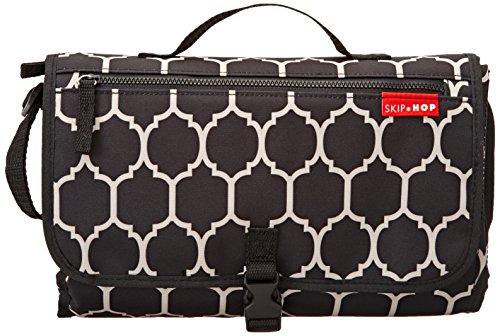 Skip Hop 202017 Mini-Wickeltasche, Variante, schwarz/weiß