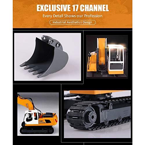 RC Auto kaufen Baufahrzeug Bild 3: KEISL 3-in-1 Ingenieurmaschinen-Auto, RC Bagger, Fernbedienung, Traktor, Spielzeug, Baufahrzeuge*
