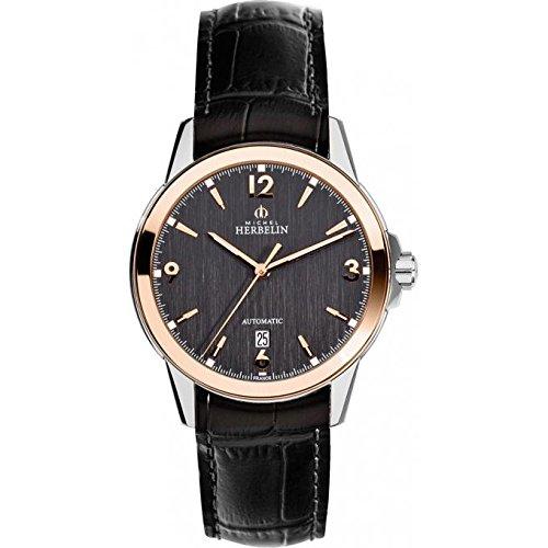 Orologio da uomo–Michel Herbelin–automatico–1650/TR14