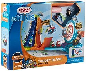 Thomas & Friends GBB21 Minis Target Blast - Juego de Accesorios para Acrobacias