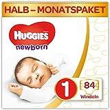 Huggies Newborn Baby Windeln für Neugeborene, Größe 1