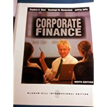 Corporate Finance with S and P Card by Stephen A. Ross (2010-12-23)