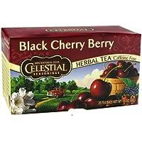 CELESTIAL SEASONINGS HERB TEA,BLK CHERRY BERRY, 20 BAG - Got Erba