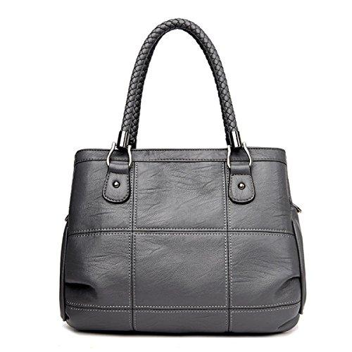Dame Messenger Bag Handtasche Wild Schultertasche Big Bag Elegant Temperament Mode Handtasche C