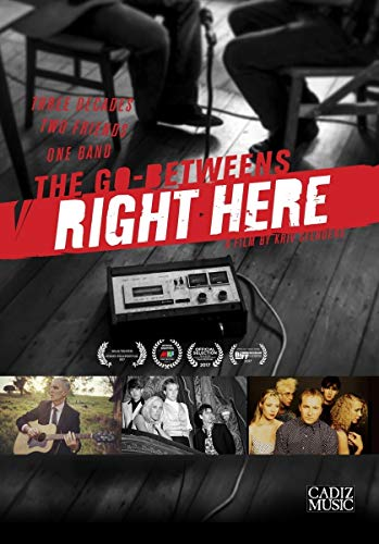 The Go-Betweens: Right Here [DVD] [2018] [NTSC] [Reino Unido]