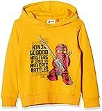 Lego Wear Jungen Sweatshirt Lego Boy Ninjago Sebastian 715, Gelb (Yellow 202), 122