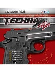 techna Clip Concealable Pistola Clip de cinturón–Sig Sauer P938–* Sólo para modelos W/6Platos Grip