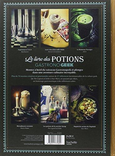Le livre des potions par Gastronogeek