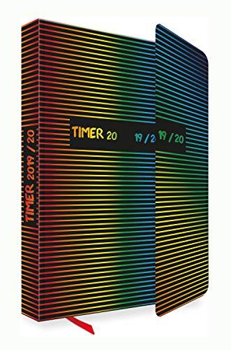 Co-klappe (Trötsch Verlag  201911 - Schülerkalender 2019/2020 mit Klappe, bunte Linien, ca. 12 x 17 cm, 128 Seiten)