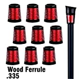 Sword &Shield sports 10Pcs/Pack Custom Golf Wood Ferrule .335 for Driver Fairway