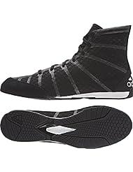 adidas Zapatillas de boxeo adizero Boxing, negro/gris 11.5, S77949