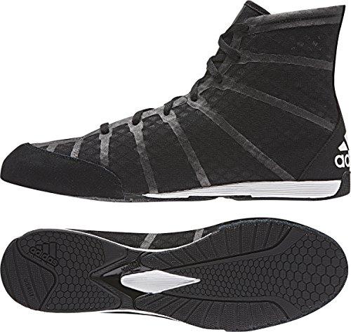 adidas Boxschuhe adizero Boxing, schwarz/grau, 11.5, S77949