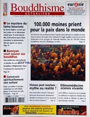 NUMISMATIQUE ET CHANGE [No 343] du 01/11/2003 - JEAN VINCHON - 100F DELACROIX - MADRID - CONGRES - L'HOMME-OISEAUX GAULOIS - MYTHE OU REALITE - COLLECTION KOLSKY - ENCRETE. par COLLECTIF