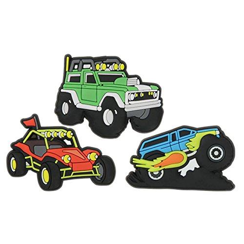 crocs Jibbitz Anstecker 3 Pack Vehicles One size -
