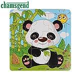 Wooden Cartoon(Panda) Educational Puzzle...
