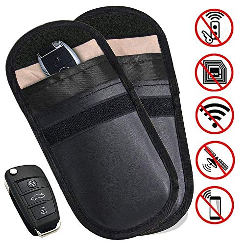 2 X Car Key Signal Blocker Pouch...