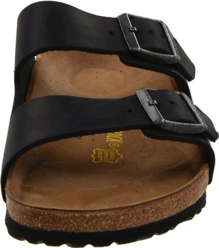 Birkenstock Womens Arizona Leather Sandals Black