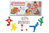 Aquamarine Games- 4 Tangram Championship, Multicolor (CP039)