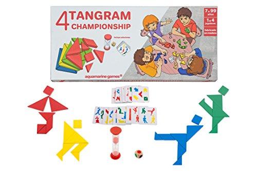 Aquamarine Games- 4 Tangram Championship, (CP039)