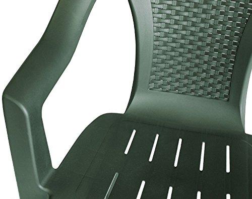 Einfaches Set 4+1 Kunststoff in Grün - 3
