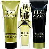 Beyonce Rise 3pc Set - 1.0 Oz Eau De Parfum, 2.5 Oz Shower Gel, 2.5 Oz Body Lotion