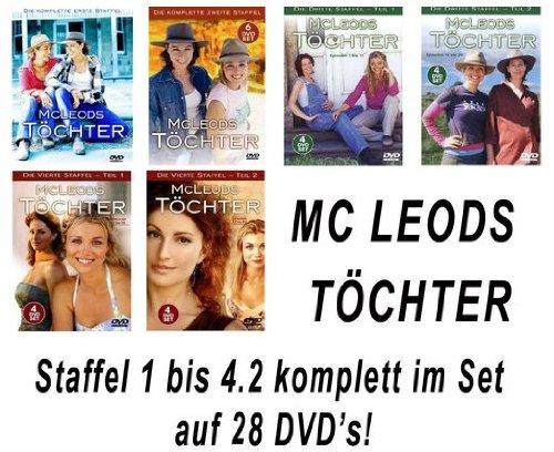 Staffeln 1-4 (28 DVDs)