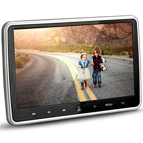 lecteur DVD de voiture appui-tête moniteur 25,7cm HD 1024* 600HDMI USB SD IR/FM Ultra mince Digital Touche tactile LCD écran par Hengweili